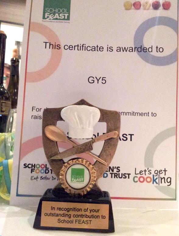 GY5 School feast trophy